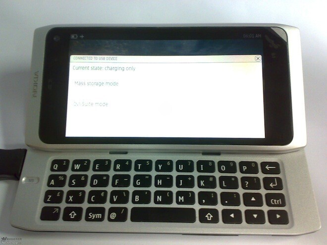 More alleged Nokia N9 pictures leak, looks like the N8 with a chicklet keyboard and MeeGo