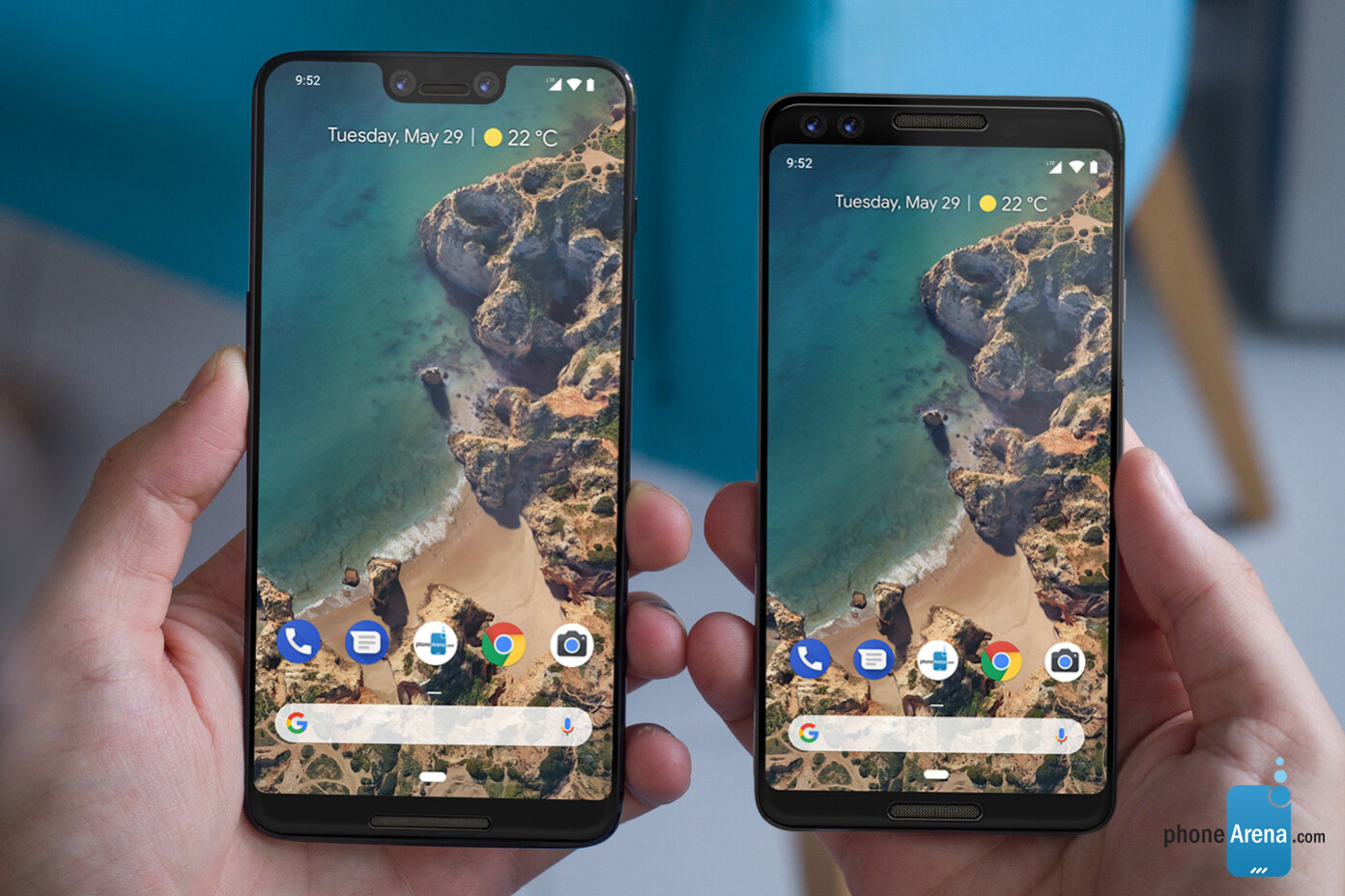 6a9759543 Google Pixel 3 and Pixel 3 XL rumor review  Design
