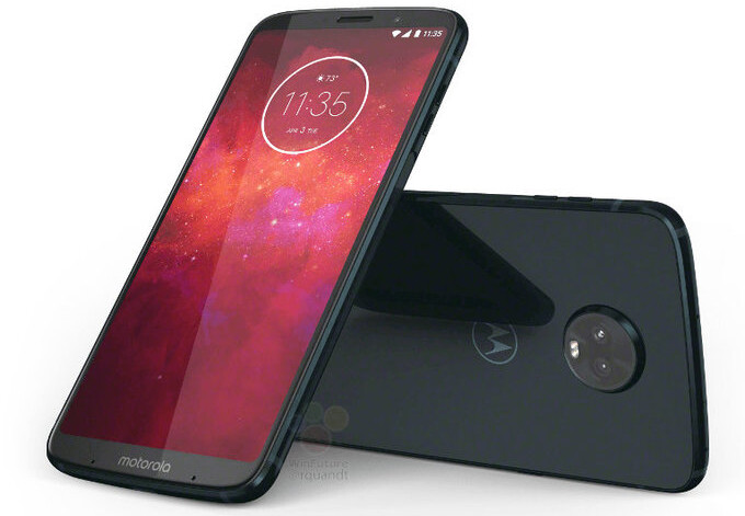 New Motorola Moto Z3 Play images show some of the phone's compatible Moto Mods