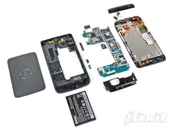 Tear-down of the Dell Streak reveals its treasure trove of hardware