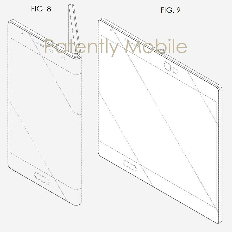Three possible designs for a foldable device with a foldable display - The Samsung Galaxy X foldable phone may be an amazing disappointment
