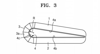 As a Samsung patent shows, a flexible screen may not be able to fold flat like a piece of paper