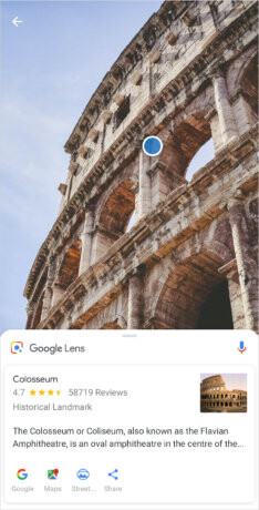 Sony adds Google Lens within the camera app of two Xperia phones