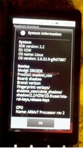 Motorola gets Cease and Desist order to halt leak of DROID X Froyo upgrade