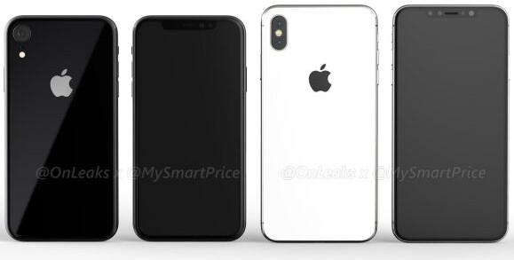 Alleged 6.1-inch iPhone 9 vs 6.5-inch iPhone X Plus - This might be Apple's iPhone X Plus: 6.5-inch screen in a compact body