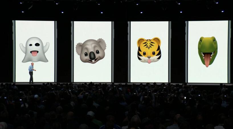 Apple unveils Tongue detection alongside four new Animoji