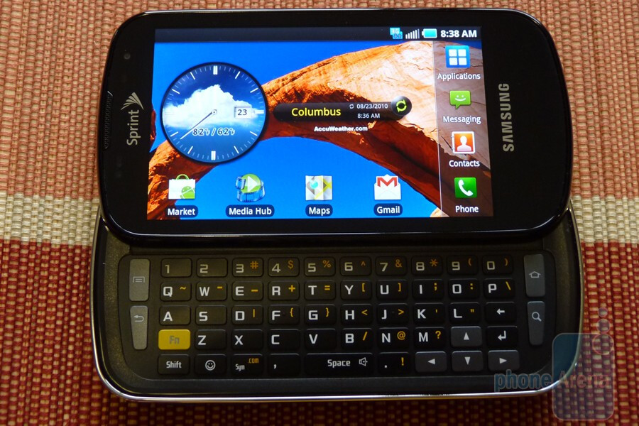Hands on with the Samsung Epic 4G
