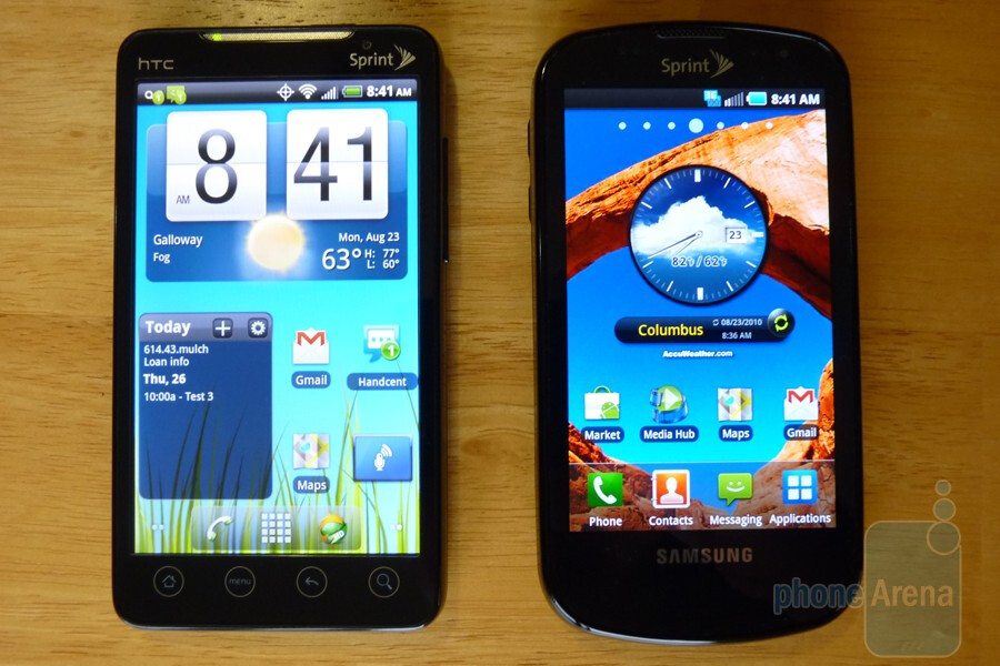 Samsung Epic and HTC EVO 4G - Hands on with the Samsung Epic 4G
