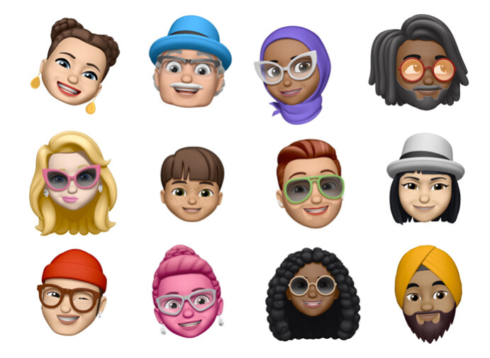 The various faces of Memoji - iOS 12 Review: The revolutionary new chapter
