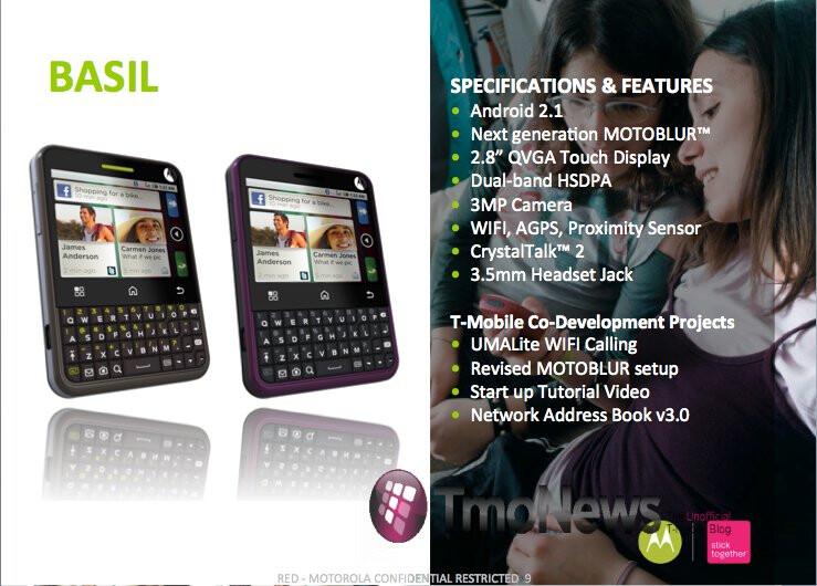Motorola CHARM Will Also Feature UMA Calling