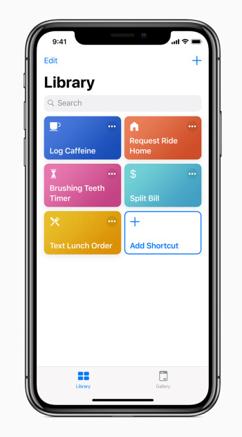 The new Shortcuts app will house them all in one place