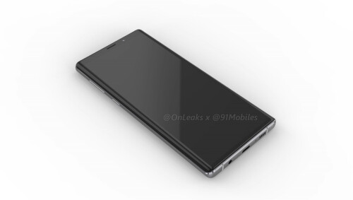 Samsung Galaxy Note 9 renders