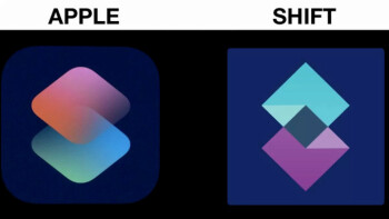 Apple sued for $200,000 over a Siri Shortcuts logo copy, do you think they look alike?