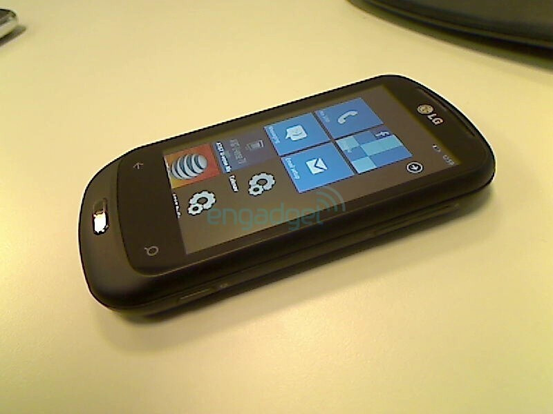 LG C900 with WP7 should be coming to market around September 28th