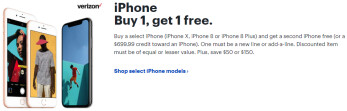 Best Buy teams with Verizon on a free iPhone BOGO deal, plus up to $150 discount