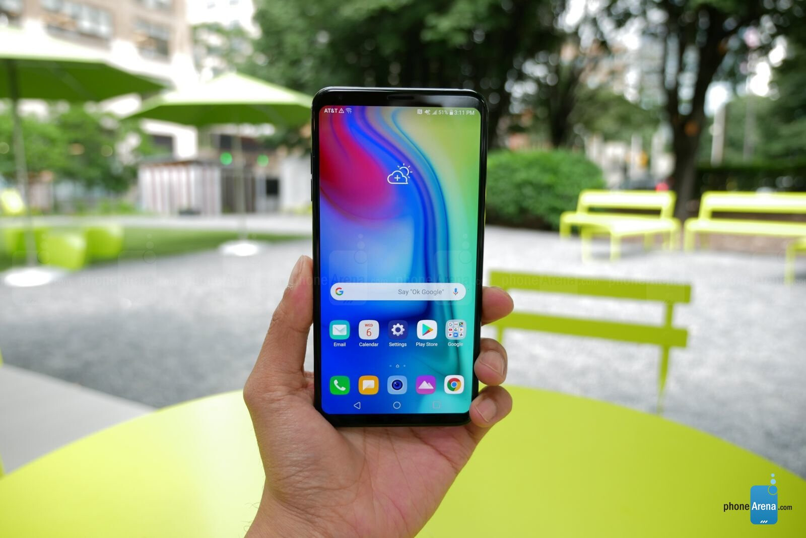 LG V35 ThinQ hands-on review | PhoneArena reviews - PhoneArena