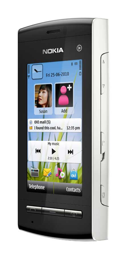 Nokia announces the music-centered 5250 that goes easy on the budget