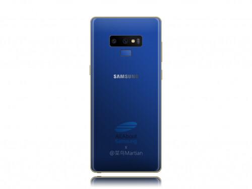 Samsung Galaxy Note 9 color variant concepts