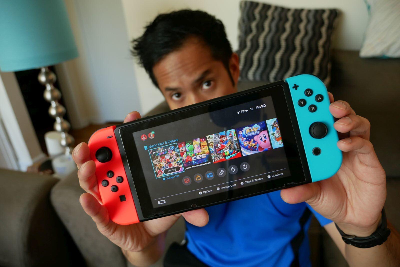 Nintendo Switch winning in mobile gaming - PhoneArena