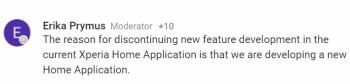 Sony gibt bekannt, dass es einen neuen Launcher entwickelt, um Xperia Home