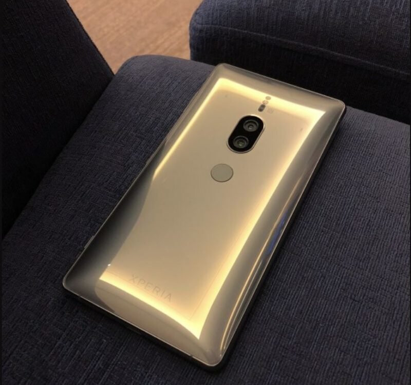 Sony Xperia XZ2 Premium might be available in Chrome Gold too