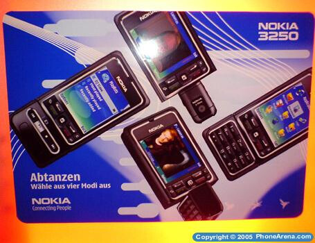 Nokia 3250 - a new music phone from Nokia
