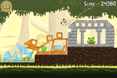 Angry Birds invade Palm Pre and Pre Plus packing webOS 1.4.5
