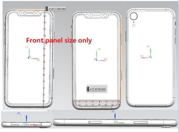 """Apple's 6.1"""" iPhone 2018 fleshed out in a new render with a large single camera"""