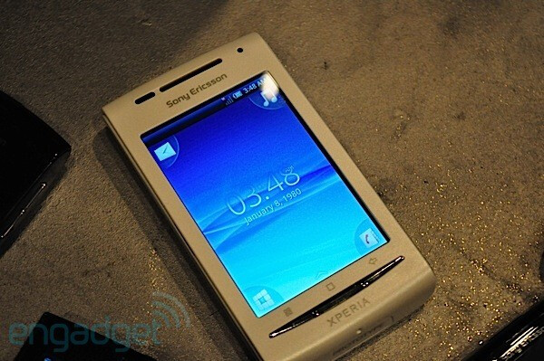Unlocked Sony Ericsson Xperia X8 is expected to hit land for less than $300