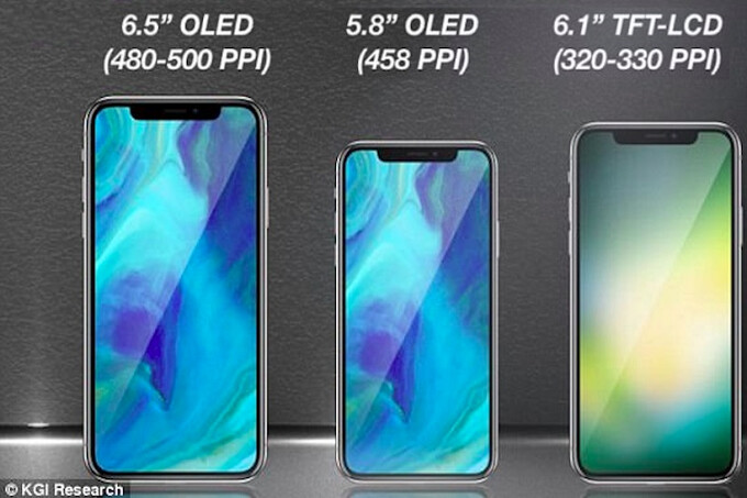 Analysts consensus pegs the iPhone X Plus to start at $999, X 2018 at $899, and the LCD version at $599-$699 - Lower Apple iPhone X 2018 price tipped by Morgan Stanley
