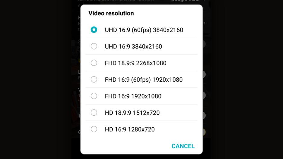 LG G7 receives 4K 60fps video recording via firmware update