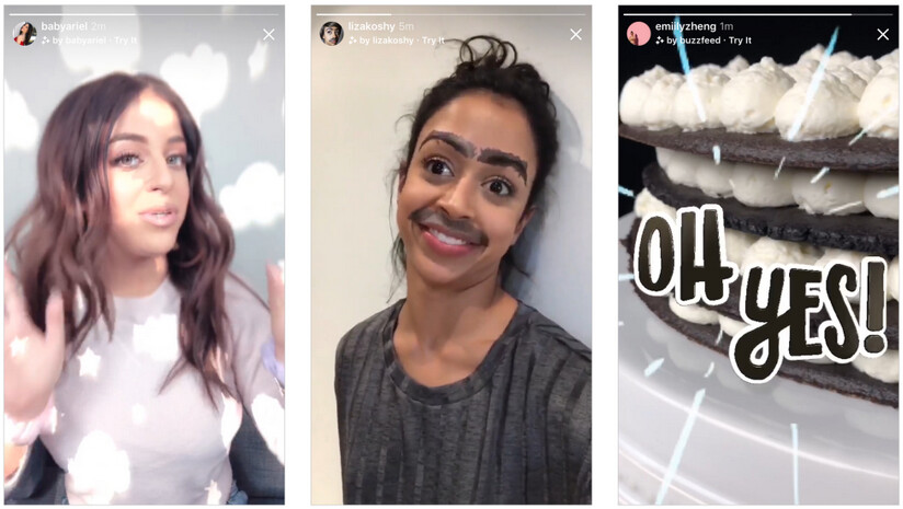 New camera effects are also part of the update - Instagram update rolls out today with video chat, Explore topic channels and more