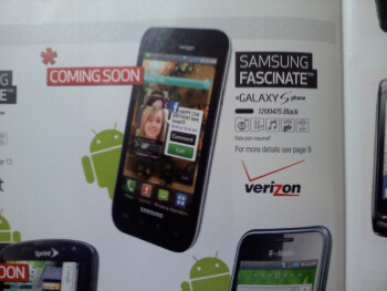 Samsung Fascinate for Verizon coming soon at Best Buy, pre-orders start Sunday!