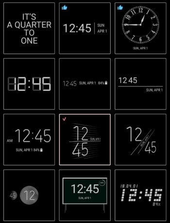 Official Samsung app gives users 30 new clock styles for the