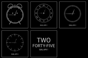 Official Samsung app gives users 30 new clock styles for the Always