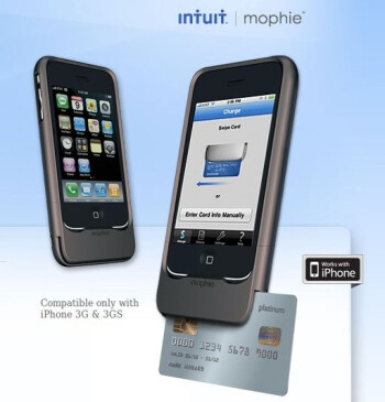 Take credit card payments with your iPhone - 3G and 3GS only for now
