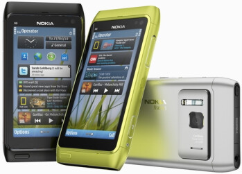 Nokia N8 in green is going to be exclusive to Vodafone