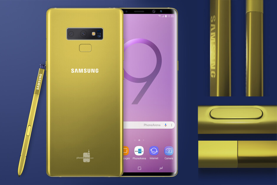 Galaxy Note 9 in yellow confirmed? Here's what it could look like