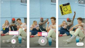 Mit Instagram können Benutzer Musik zu ihren Stories hinzufügen, aber nur auf iOS