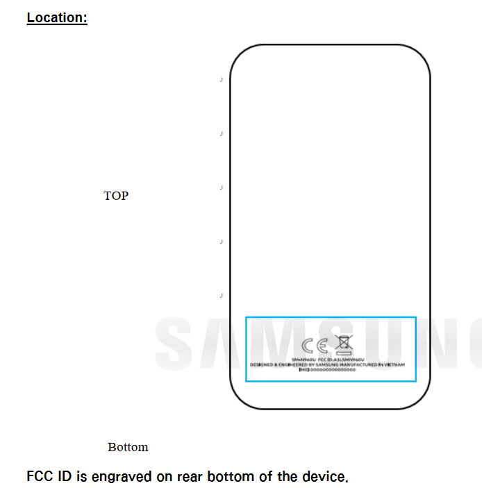 The FCC reveals where the label will be engraved on the Samsung Galaxy Note 9 - Unlocked Samsung Galaxy Note 9 for the U.S. visits the FCC