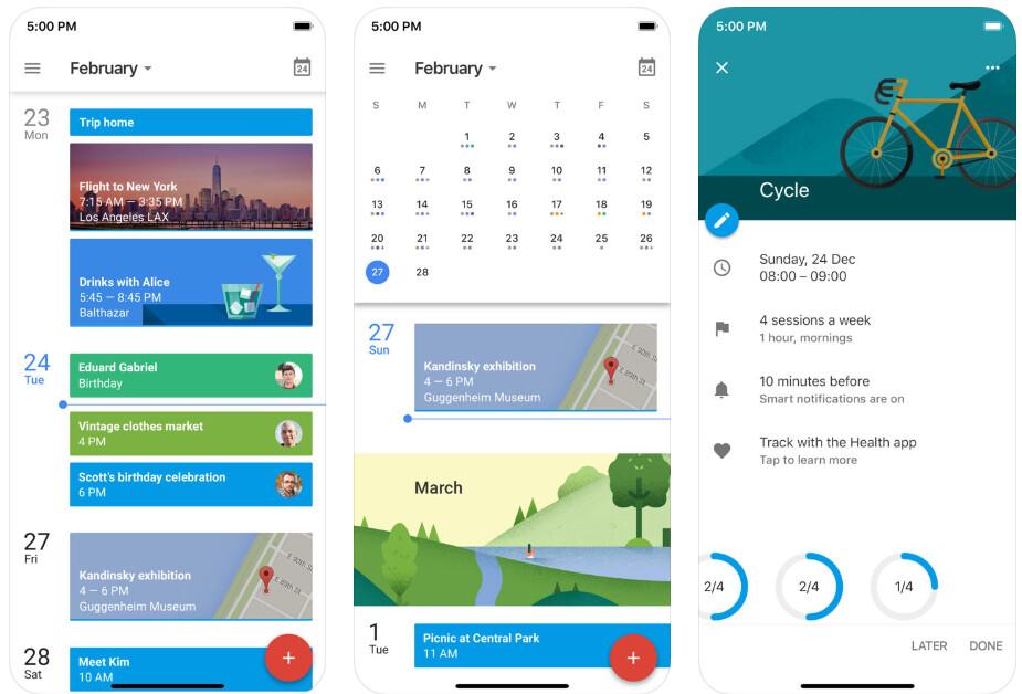 Google Calendar - Best iPhone apps (2020)