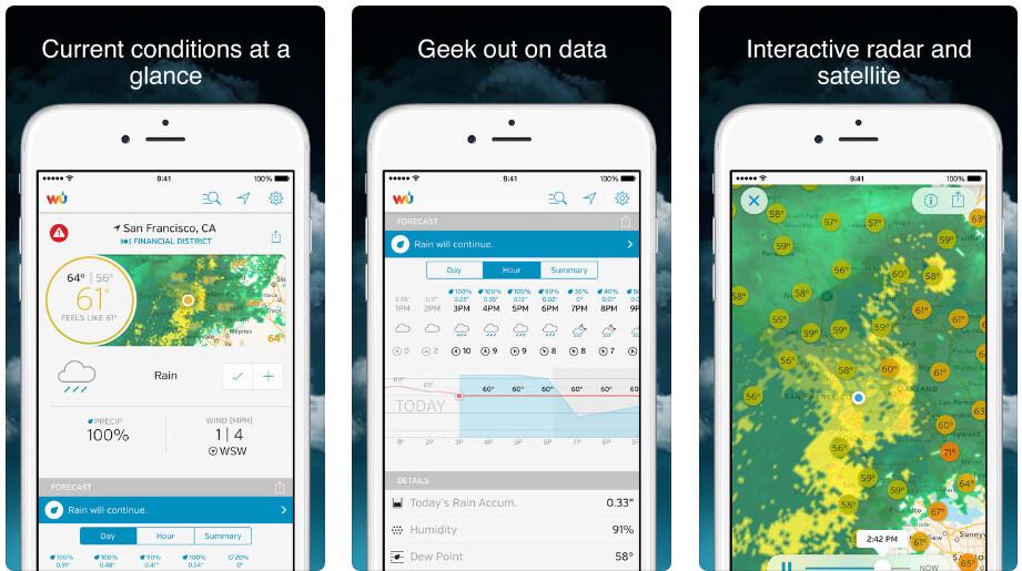Weather Underground - Best iPhone apps (2020)