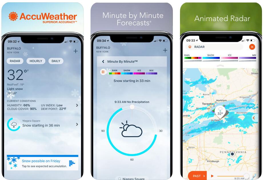 AccuWeather - Best iPhone apps (2020)