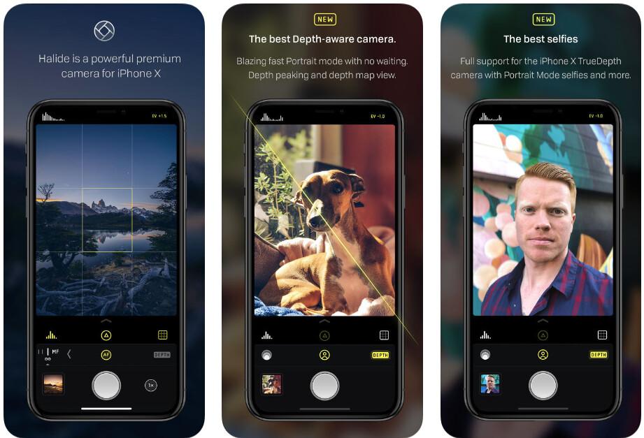 Halide - Best iPhone apps (2020)