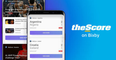 Samsung brings live sports scores to Bixby in the United States