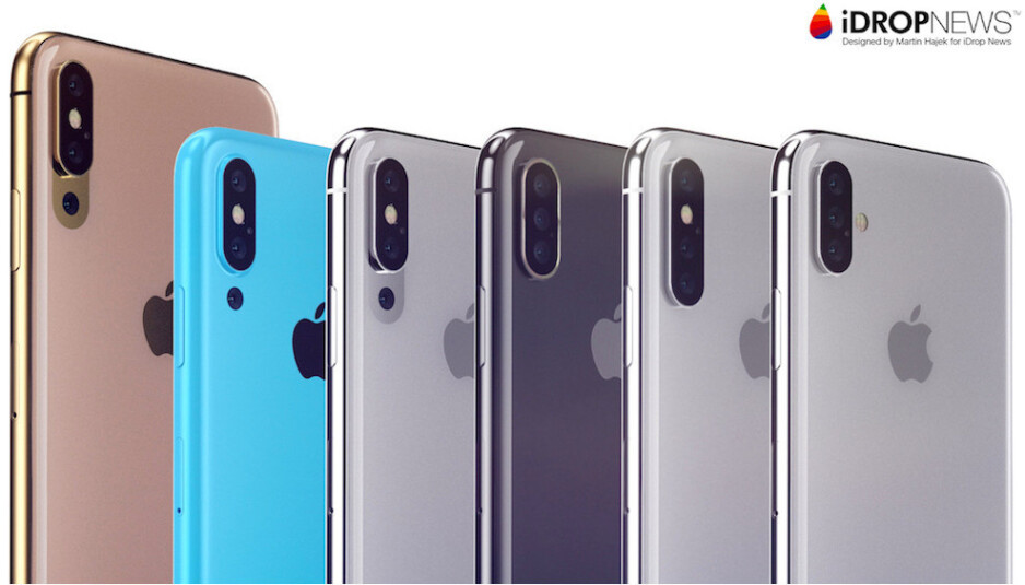 There are plenty of ways for Apple to go about a triple-camera iPhone, as you can see from Martin Hajek's concept here, but the AR element may bring design twists - A triple-camera 2019 iPhone tipped to be Apple's biggest bet on AR