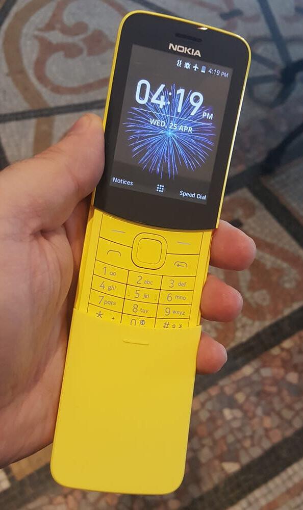 Nokia 8110 4G update to add WhatsApp support - PhoneArena