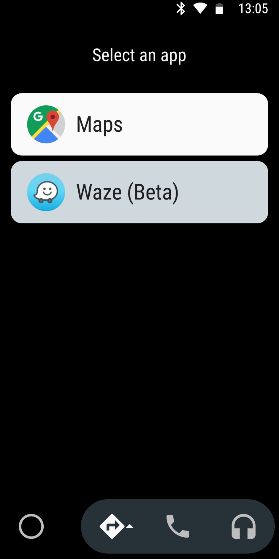 Waze running within Android Auto - How to use Waze instead of Google Maps with Android Auto