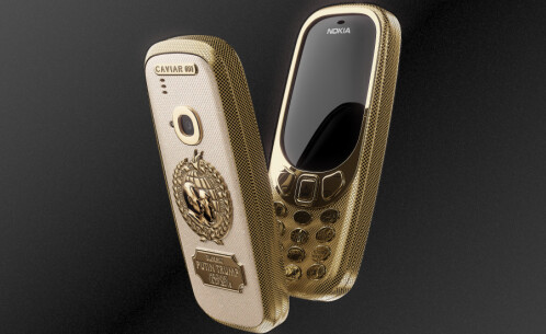 Caviar Nokia 3310 Peacemakers edition commemorates the Trump-Putin summit in Helsinki