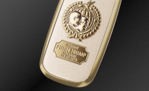 Caviar Nokia 3310 Peacemakers edition commemorates the Trump-Putin summit in Helsinki